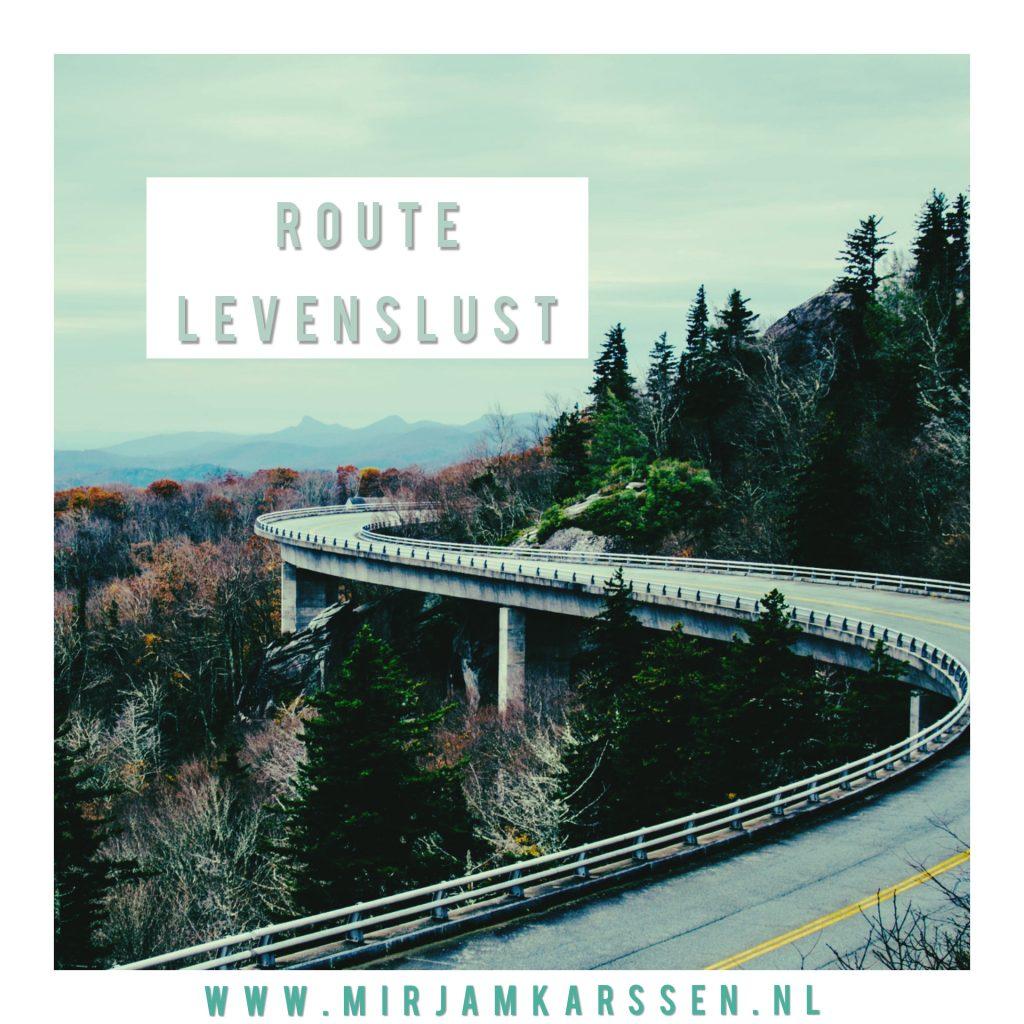 Podcast Route Levenslust door Mirjam Karssen